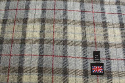 Shetland Tweed Plaid Fabric BZ89
